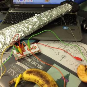 Real Fruit Ninja with Makey Makey/ Scratch Programming